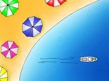 рейс праздника иллюстрация вектора