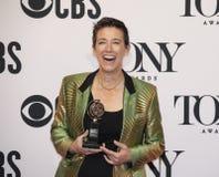 Рейчел Hauck выигрывает на 2019 премиях Тони стоковое изображение