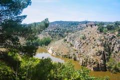 Река †Tajo» самое большое Стоковое Изображение