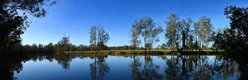 Река Австралия Wallamba стоковая фотография