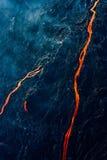 Река лавы Стоковая Фотография RF