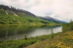 река Аляски стоковое изображение rf