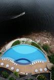 река Амазонкы Бразилии Стоковое Изображение RF