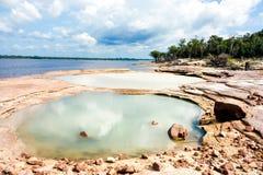 река Амазонкы Стоковые Изображения RF