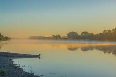 Река ландшафта Стоковое Фото