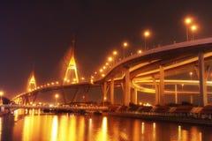 Река Бангкок Стоковое Фото