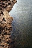 река банка Стоковое Изображение
