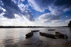 река ботинка Стоковое Фото