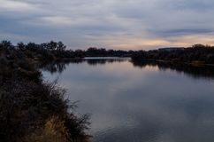Река 23 Вайоминга Стоковая Фотография