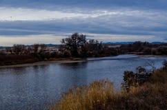 Река 24 Вайоминга Стоковые Фото