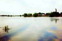 Река весны Стоковое фото RF