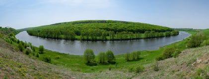 Река вокруг земли Стоковые Фото