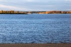 Река Волга в самаре Стоковые Изображения RF