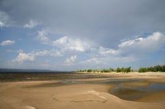Река Волга Стоковая Фотография