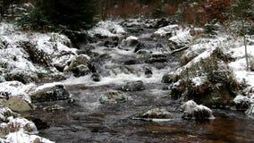 Река водопада пообещанное в зиме акции видеоматериалы
