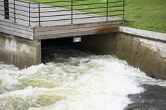 река входа Стоковое Изображение RF