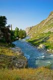 Река в горах Стоковое Фото