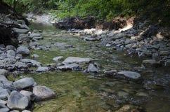 Река в горах Стоковое Изображение