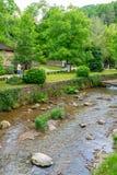 Река в заповеднике Etera в Болгарии Стоковое Изображение