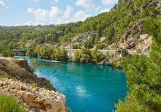 Река в каньоне Koprulu Стоковые Изображения