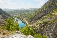 Река в каньоне Koprulu Стоковое Фото