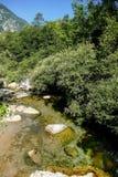 Река в национальном парке Tre Cime di Lavaredo Dolomiti Стоковые Фотографии RF