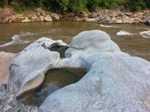 река в национальном парке на Cheangmai Таиланде Стоковое Фото