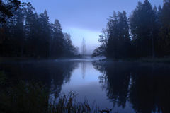 Река в осени Стоковые Изображения RF