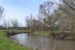 Река в парке стоковое изображение rf