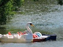 Река в Праге Стоковая Фотография