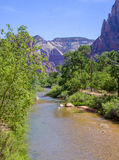 Река в Сионе Стоковое фото RF