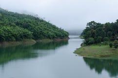 Река в утре Стоковое фото RF