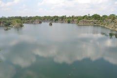 Река в Buri Ram Таиланде Стоковые Фотографии RF