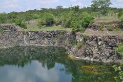 Река в Buri Ram Таиланде Стоковое Изображение RF