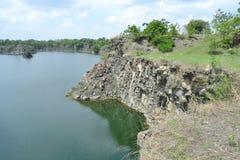 Река в Buri Ram Таиланде Стоковое Изображение