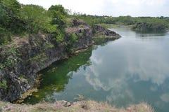 Река в Buri Ram Таиланде Стоковые Изображения