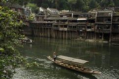 Река в Fenghuang Стоковые Фотографии RF
