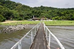 Река в Guaruja стоковая фотография