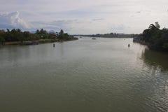 Река в Hoi Стоковая Фотография RF