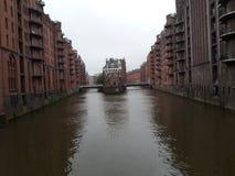 Река Гамбурга Стоковые Фотографии RF