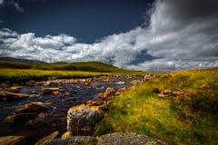 Река гористой местности Стоковые Изображения RF