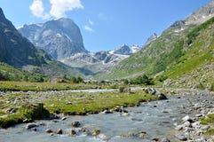 Река горы, ландшафт Стоковое фото RF