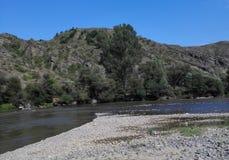 Река горы в Georgia, Adjarija Стоковые Фото