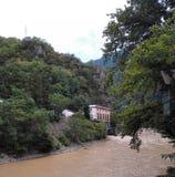 Река горы в Georgia, Adjarija Стоковая Фотография