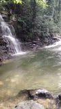 Река горы в Georgia, Adjarija Стоковые Изображения RF