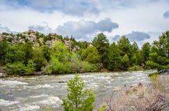 река горы утесистое Стоковое Изображение RF