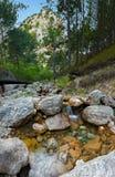 Река 2 горы Стоковое Изображение