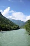 река горы стоковое изображение rf