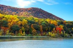 река горы hudson осени Стоковые Изображения RF