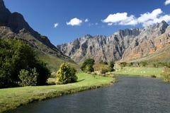 река горы scenary Стоковое Изображение